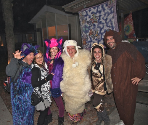 Warm & Fuzzy Theme Night!! ~ Pic by Josh Raskin