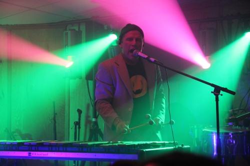 Mike Dillon on Vibraphone ~ Pic by Josh Raskin