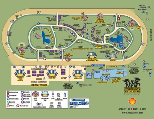 2012 Fantasy Map