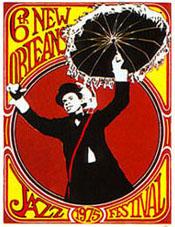 Jazzfest 1975 Historic Poster