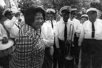 Mahalia Jackson - Historic Jazz Fest Picture